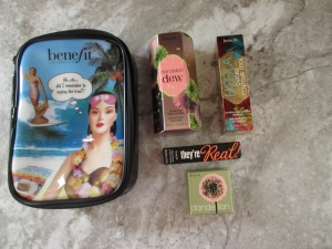 Beauty haul benefit cosmetics