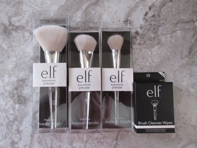 Beauty haul elf cosmetics brushes