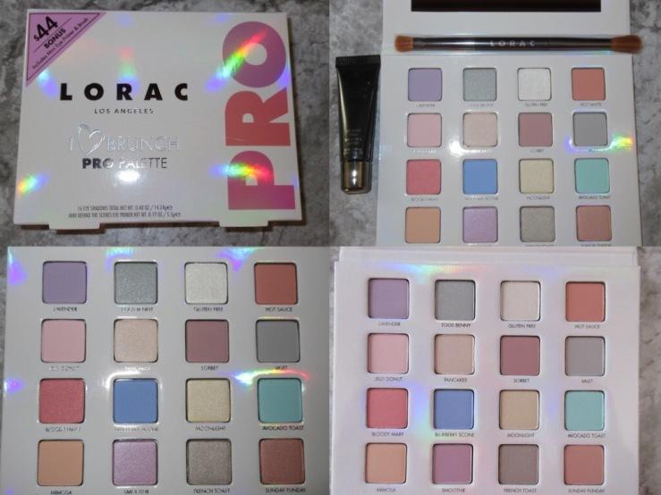 Beauty haul LORAC palette