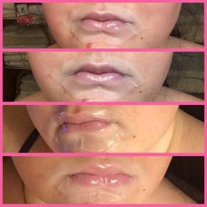 Sephora lip mask+rose lip mask+moisturizing and softening lip mask+review