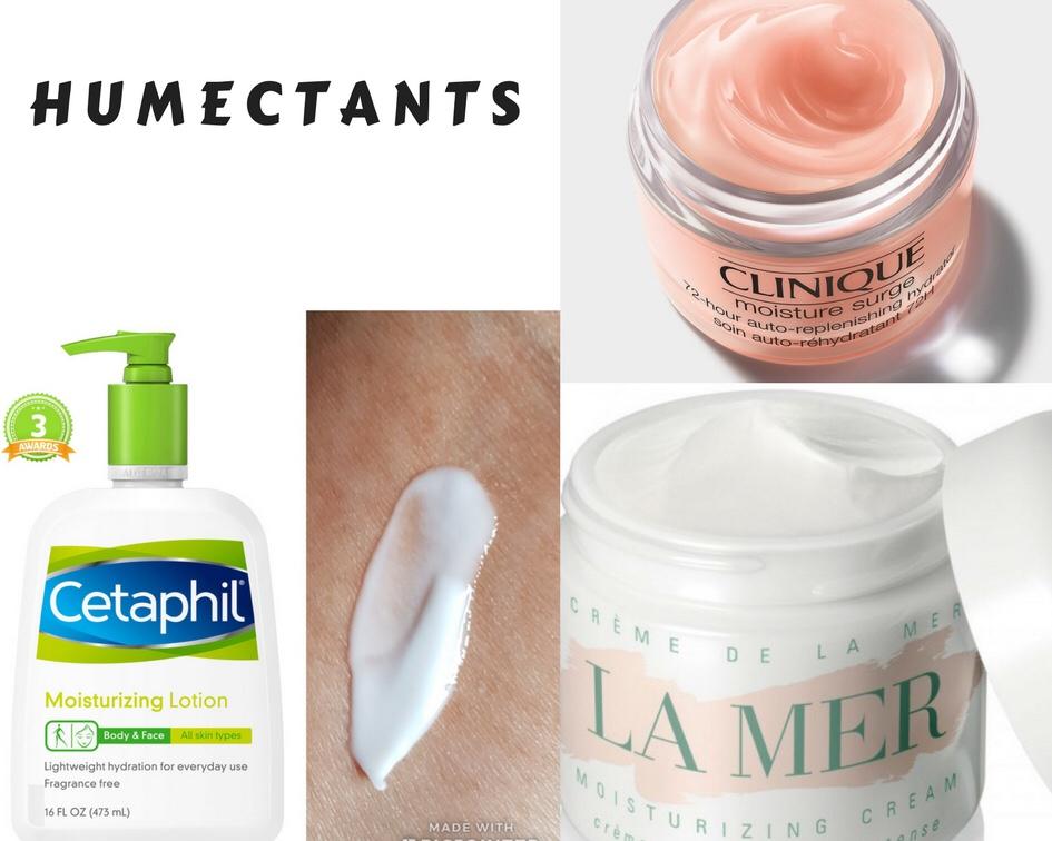 Moisturizers: humectants. occlusive agents. emollients. La mer ceptaphil clinique moisturizer cream thick heavy
