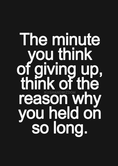 Motivational quotes Monday don't give up