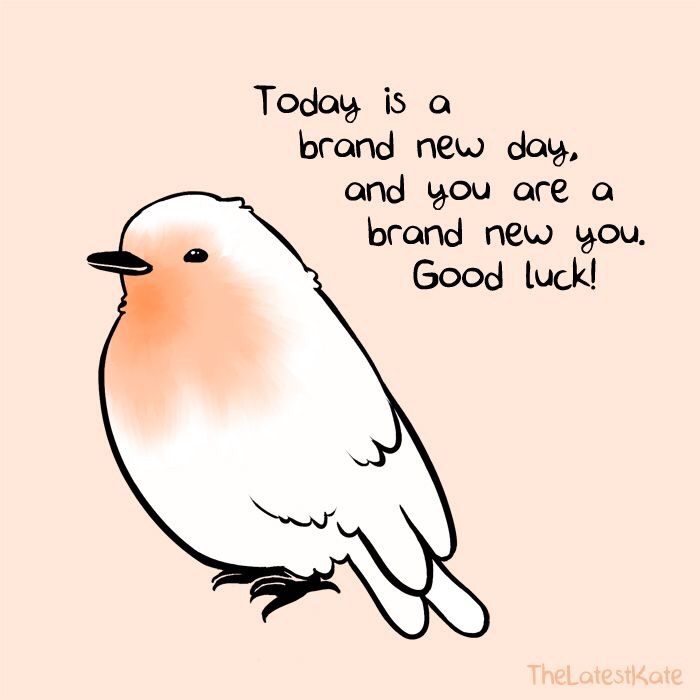 Motivational Monday inspirational new day