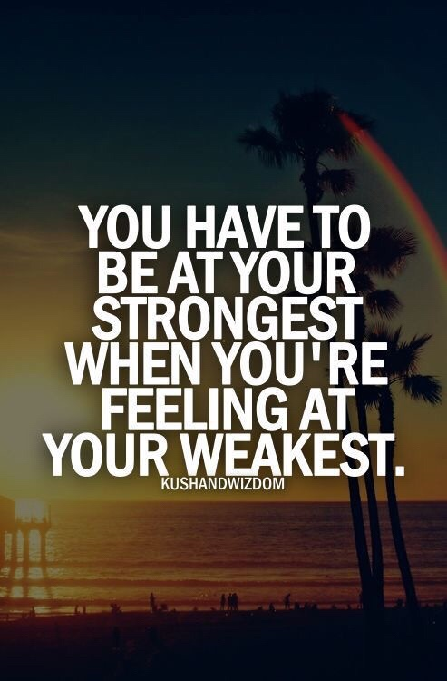 Motivational Monday be strong