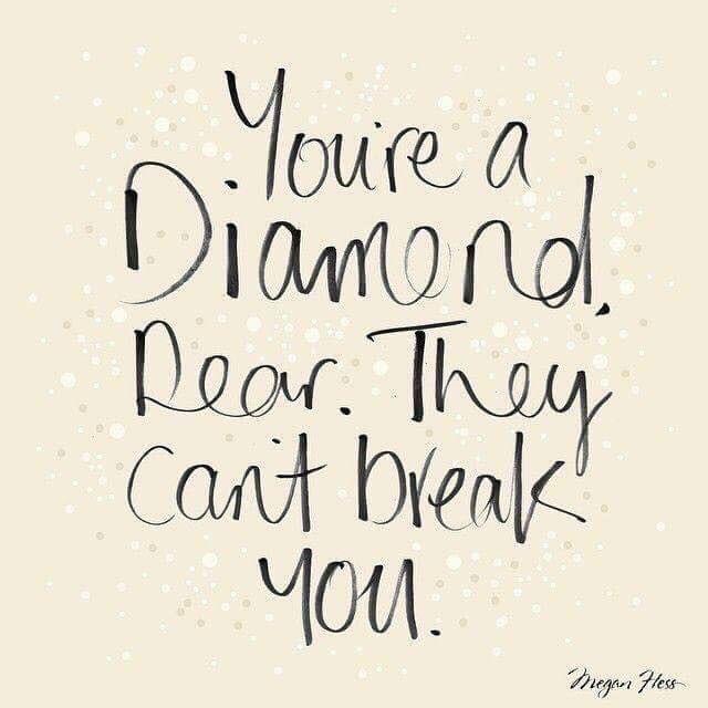 Motivational Monday un breakable quote