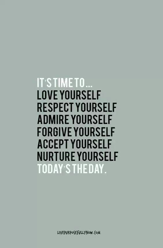 Motivational Monday quotes love yourself