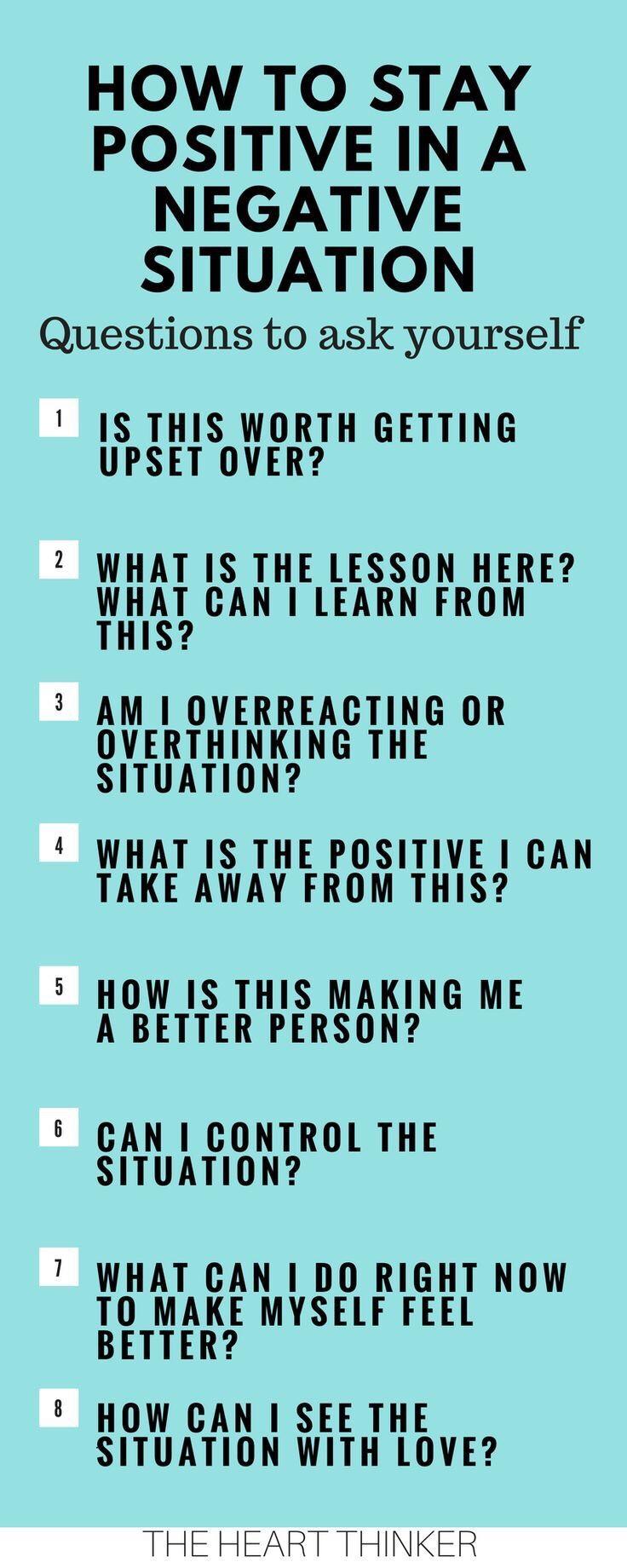 Motivational Monday positive thoughts stop negativity happy