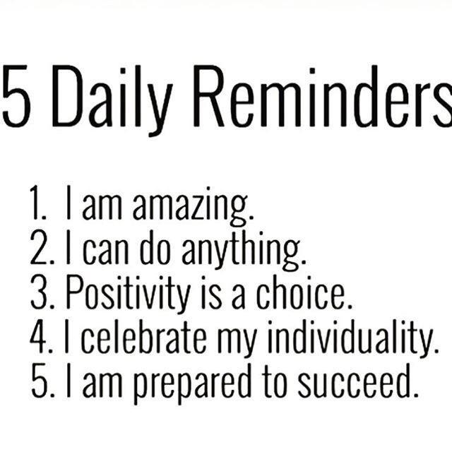 Motivational Monday positive reminder Monday
