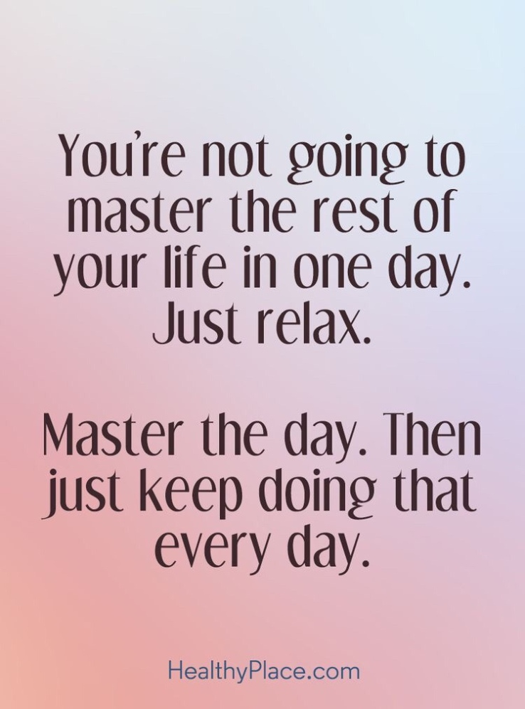 Motivational Monday inspirational motivational quotes positivity take control relax don't stress be happy