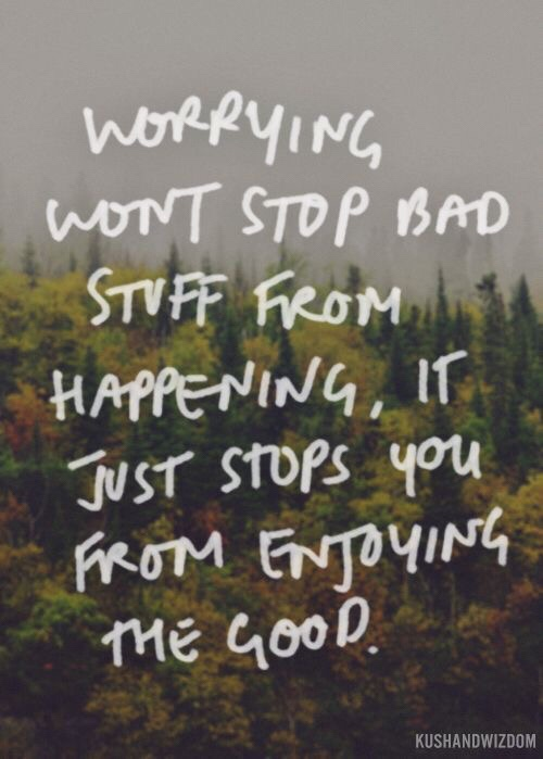 Motivational Monday quotes don't worry life