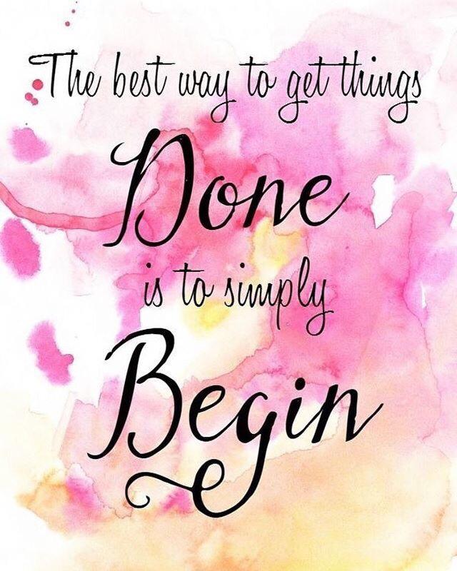 Motivational Monday quotes begin