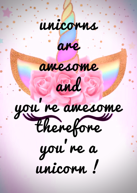 Motivational Monday quotes fun you're awesome unicorns