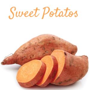 Beauty food, food, beauty, skincare, skin care, sweet potato