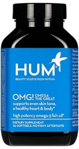 Beauty blog, HUM nutrition, daily cleanse, OMG! Omega The Great, beauty supplement, vitamins, skincare, skin, detox, omega 3 fatty acids, zinc